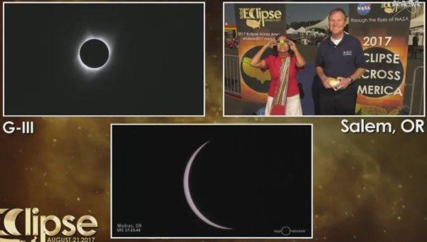 A2065 : L'éclipse totale solaire vue par la NASA !