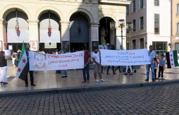 A2067 : Les Vaudois à l'aide de Free-Syria Lyon