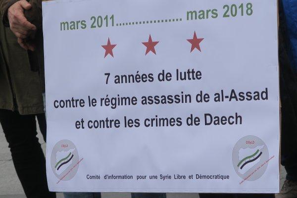 A2099 : Triste 7e anniversaire pour la Syrie