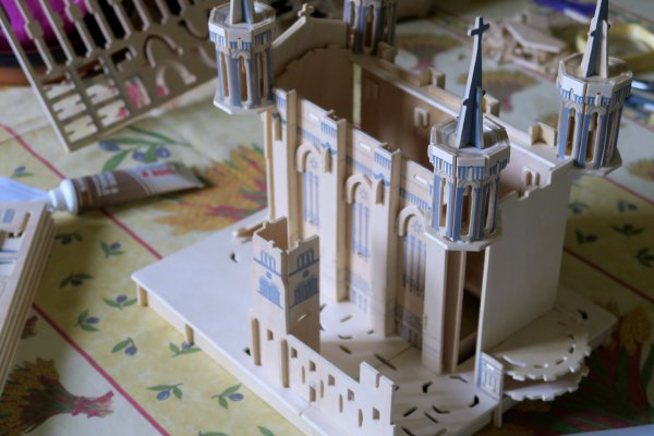 A2103 : Une maquette de la basilique de Fourvière !