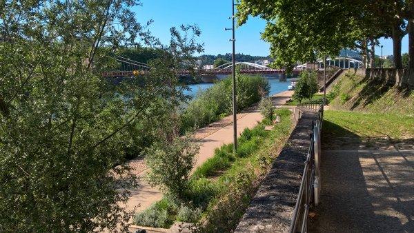 A2114 : En flânant sur les bords de Saône