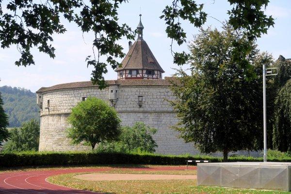 A2122 : Le fort Munot à Schaffhausen...