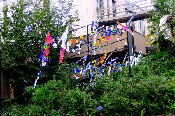 A2285 : Le quai des Fleurs à Montreux (Suisse)