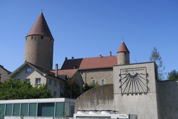 A2291 : A la découverte de Bulle, dans le canton de Fribourg (Suisse)