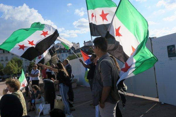 A2294 : Hommage aux victimes d'armes chimiques en Syrie...