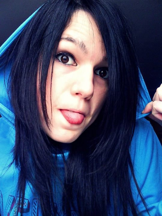 crazy girl ;)