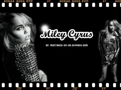 Miley Cyrus on Montages-En-Or.skyrock.com