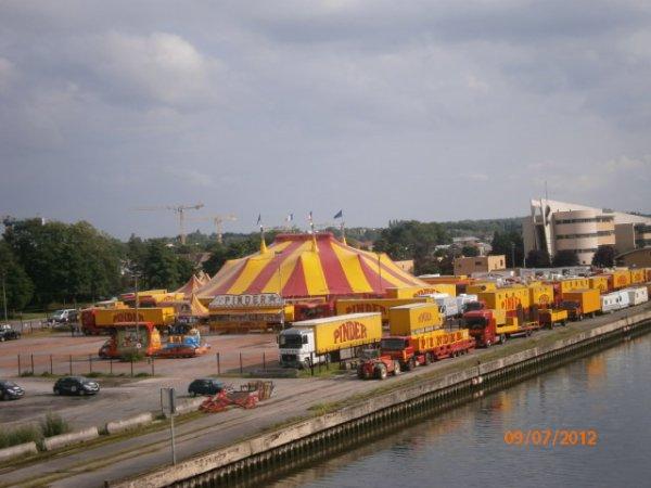 Cirque Pinder à Valenciennes