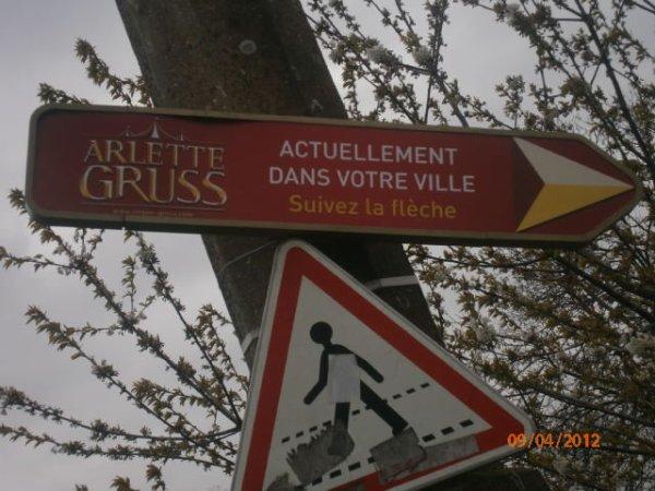 Arlette Gruss à Valenciennes 2012