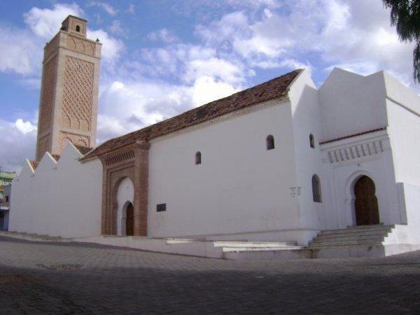 la grande mosquée de Nédroma en Algérie