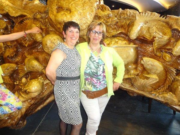 grazièla et moi a droite les deux nonna lol