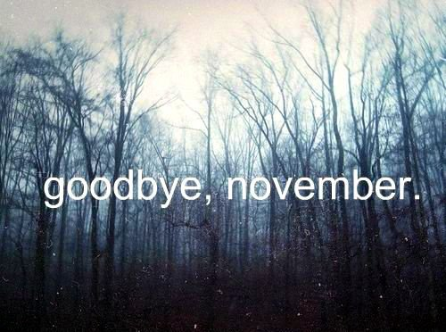 ..gOodbye SweeT nOvemBer..