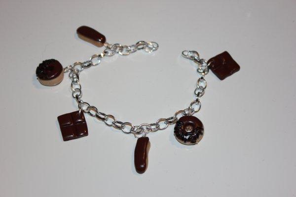 bracelet chocolat