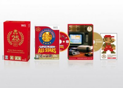 25 ans de Mario : le collector de Mario All-Stars en France !