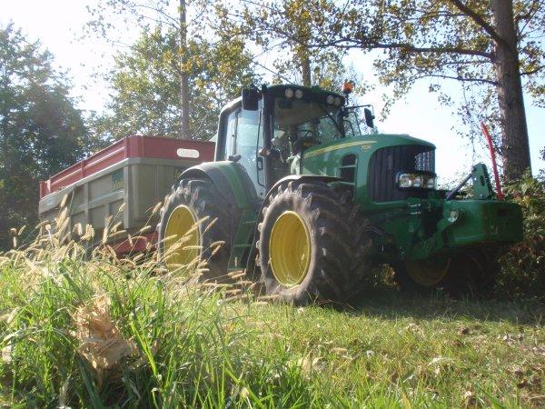 Dérniére photo de la récolte le 7530 avec la leboulch
