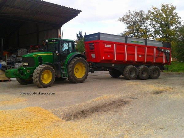 ensemble remorque tracteur maïs 2012