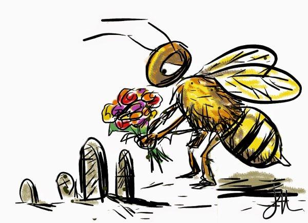 Les abeilles officiellement reconnues comme espèce en voie de disparition.