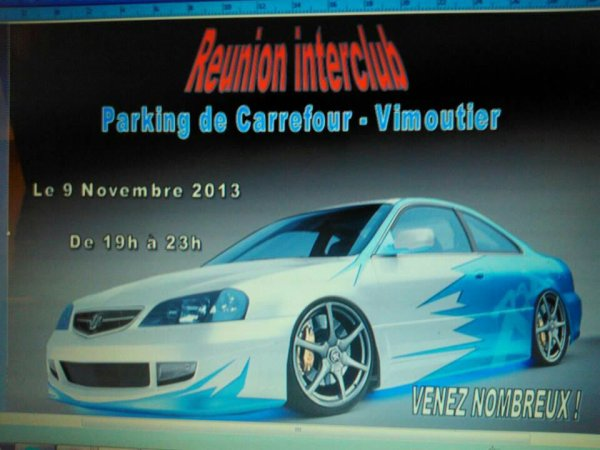 Réunion interclub  night tuning club 61  & Xtreme project