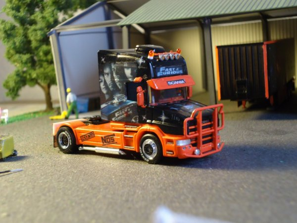 scania fast and furious