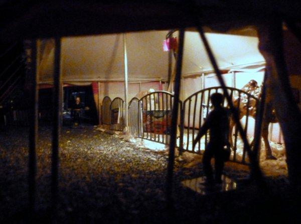 Tente des exotiques cirque Pinder