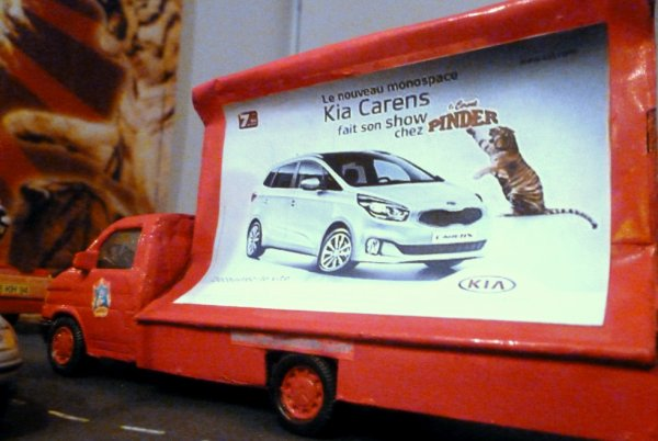 Nouvelle affiche Kia!