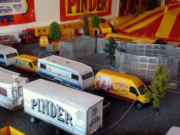 Maquette cirque Pinder 2013