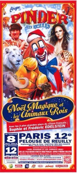 Pinder a Paris 2013 - Noël Magique et les animaux Rois!!
