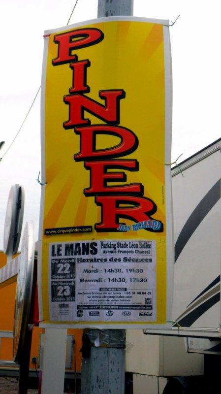 Le Mans 22-10-2013 Cirque Pinder