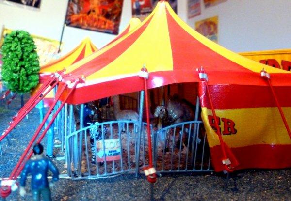ZOO maquette cirque Pinder