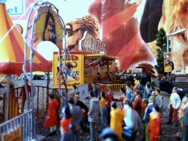 Entrée cirque Pinder public