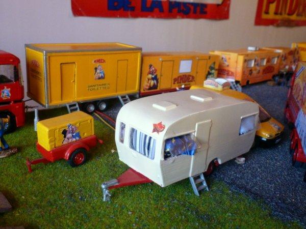 Caravane cirque Pinder