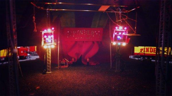Les prochaines lumières du cirque pinder!