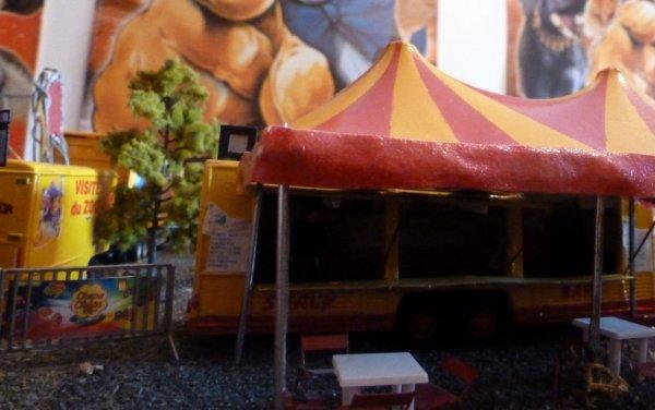 Bar maquette cirque Pinder