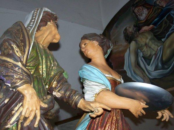Aujourd'hui dimanche : LA DECOLLATION DE SAINT JEAN-BAPTISTE