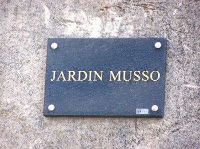 """LE """"JARDIN MUSSO"""""""