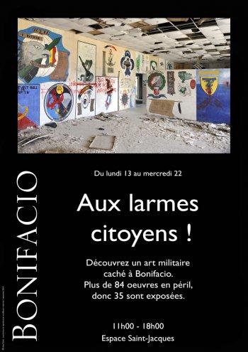 EXPOSITION DE DESSINS MILITAIRES : AUX LARMES CITOYENS !