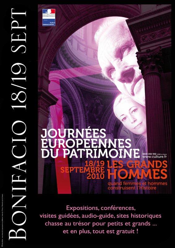 Journées Européennes du Patrimoine à Bonifacio