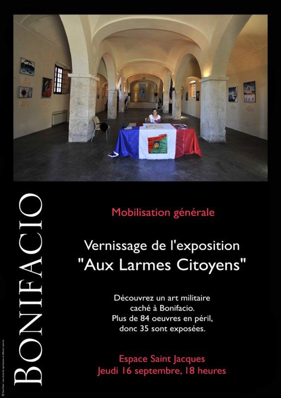 """Jeudi, Vernissage de l'exposition """"Aux larmes citoyens"""""""