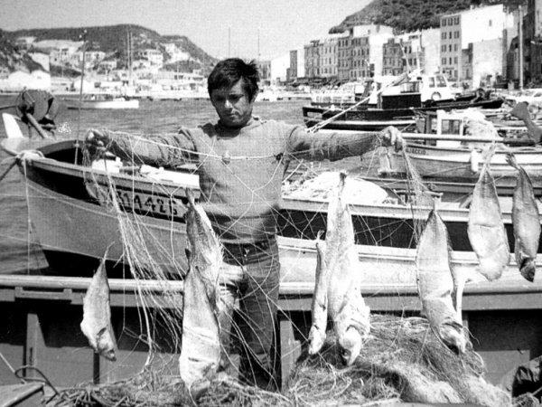 Pêcheur bonifacien (années 1970)