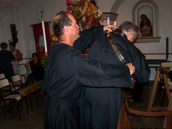 C'ETAIT BIEN L'ENLEVEMENT DU BAUDRIER DE LA CROIX (Saint Jean-Baptiste)