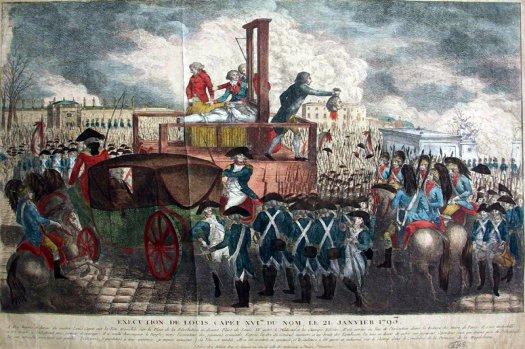 IL Y A 218 ANS,LE BONIFACIEN CONSTANTINI ASSISTAIT A L'EXECUTION DE LOUIS XVI