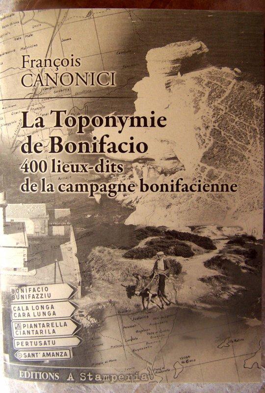 PARUTION : 4OO LIEUX-DITS DE BONIFACIO