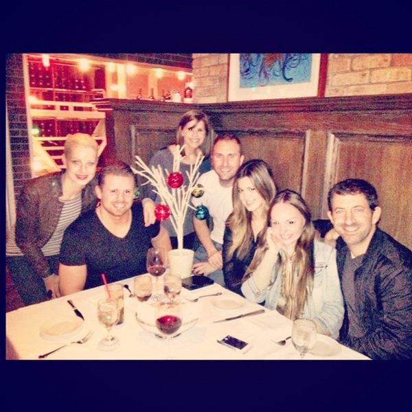 Xmas dinner with friends at Craigs in LA
