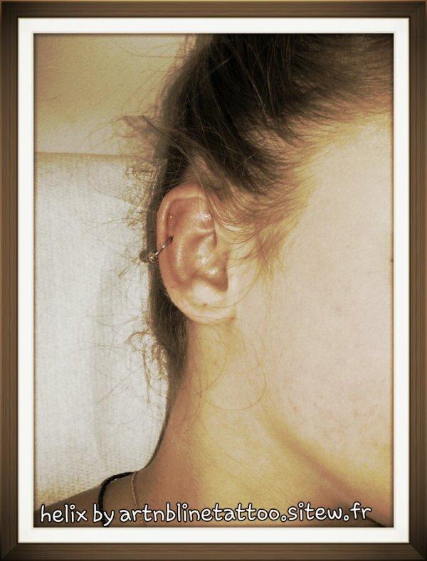 piercing oreille