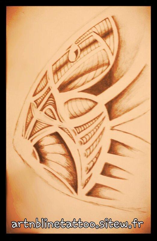 dessin tribal a tatouer a qui le voudra