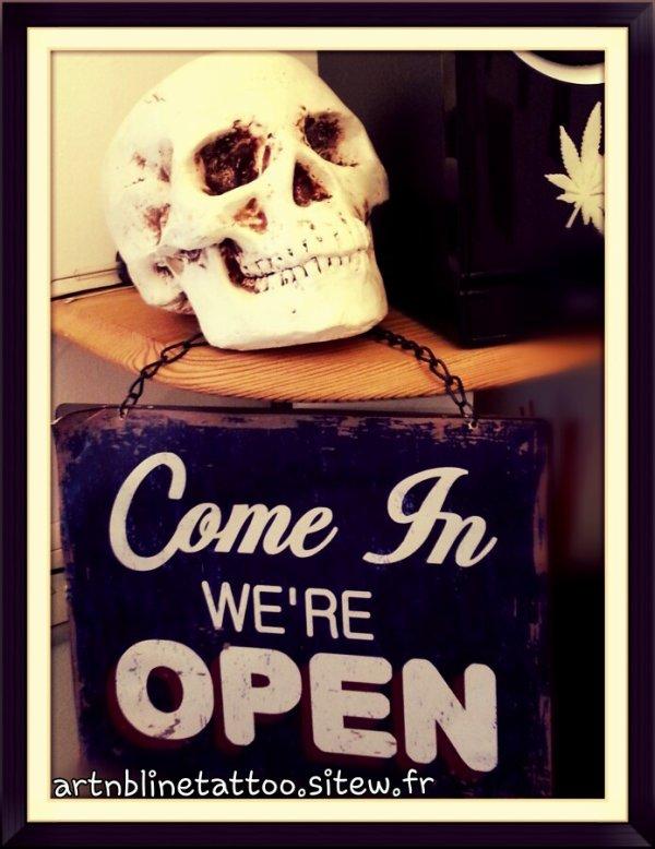 mais bien sur qu'on est ouvert !!! Le soir !