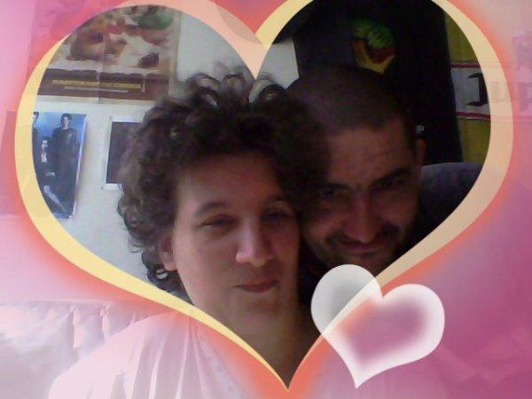 moi et mon homme Dany Van Roy que je t aime a la foille tout mon c½ur