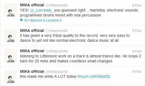 Twitter encore + Mika chantera aux victoires de la musique!