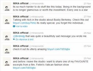 Mika au théatre antique de Vienne + XL repubblica + twitter