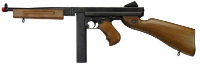 Review 2 / Thompson M1A1/Military Cybergun réplique AEG !